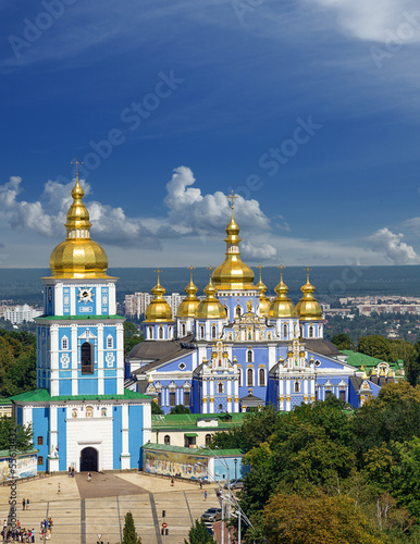 Spoed Foto op Canvas Kiev Saint Michael's cathedral in Kiev, Ukraine