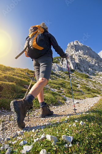 Fotografie, Obraz  Hiking