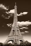 Fototapeta Wieża Eiffla - la Torre Eiffel retrò