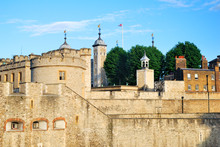 The Tower Of London Fortress In The Evening Light