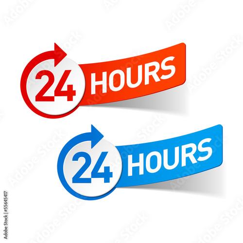 Fényképezés  24 hours symbol
