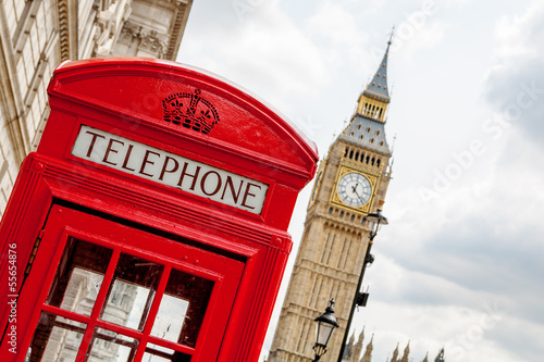 Foto op Canvas Londen Phone booth. London, UK