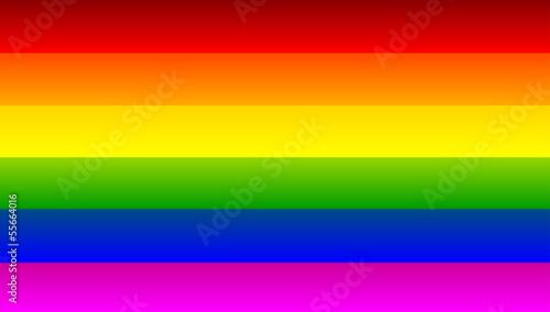 Fotografering Rainbow flag