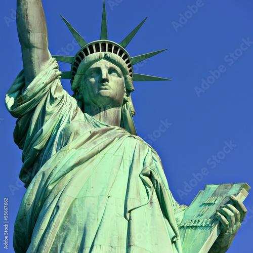 Fotografie, Obraz  Statue of Liberty Up Close