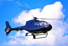 Moderner Hubschrauber In Der Luft