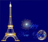 Fototapeta Fototapety Paryż - zabawa w Paryżu