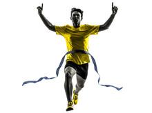 Young Man Sprinter Runner Runn...