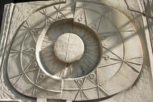 Maya Style Bas Relief