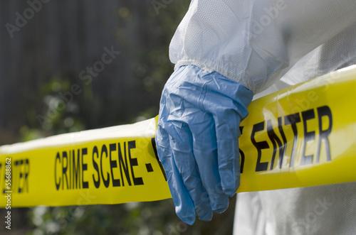 Stampa su Tela Crime Scene Investigation