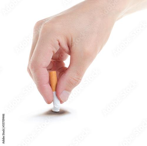 Fényképezés  Stop smoking.