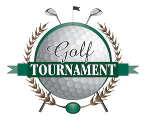 Fototapeta Golf Golf Tournament Clubs Design