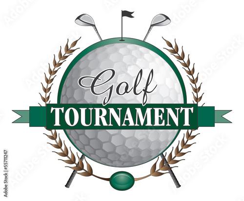 Golf Tournament Clubs Design - 55711247