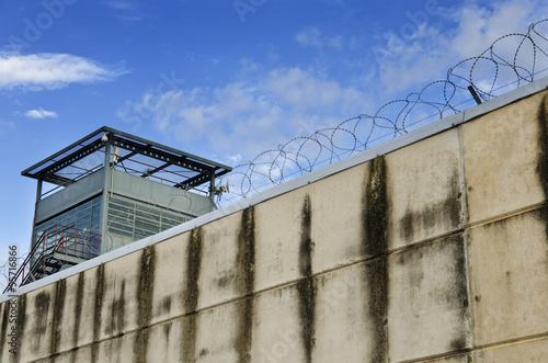 Valokuva The prison wall.