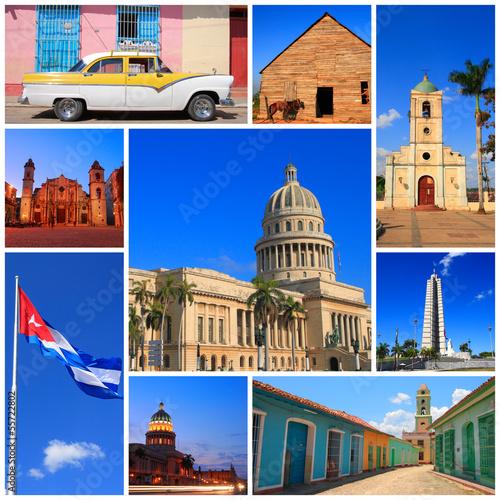 Impressions of Cuba Canvas Print