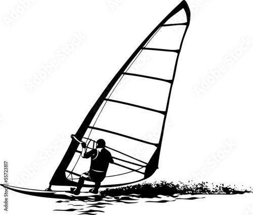 sylwetka-wektor-windsurfingu-na-szybownictwo