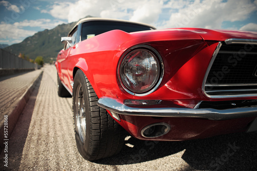 Cadres-photo bureau Vintage voitures Classic Muscle Car