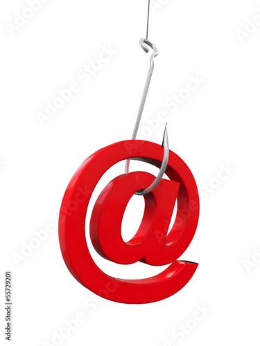 Fotografía  Phishing Fraud Online
