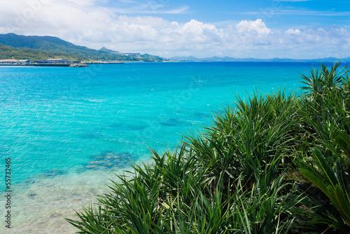 In de dag Mexico 瀬底島の海