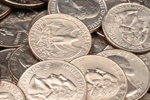 Close Up American Quarters