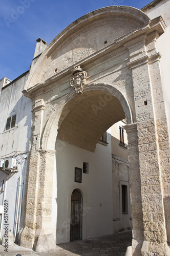 Fotografie, Obraz  Galatina, Porta Luce - Puglia - Italy