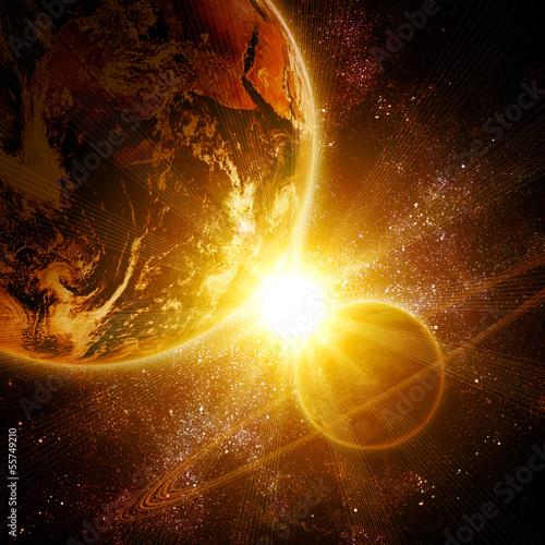 dwie-planety-w-kosmosie