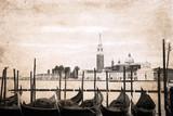 grafika w stylu retro, Wenecja - 55750088