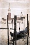 grafika w stylu retro, Wenecja - 55750090