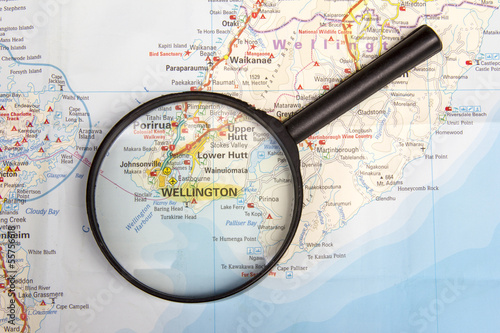 Wellington and Magnifying Glass
