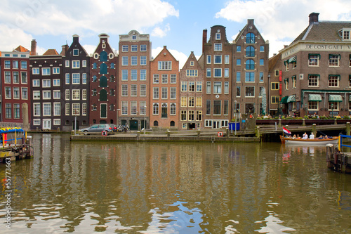 Photo  old canal of Amsterdam
