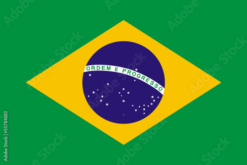 Recess Fitting Brazil Brazil Flag
