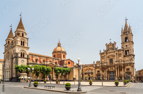Acireale - Cathedral Canvas Print
