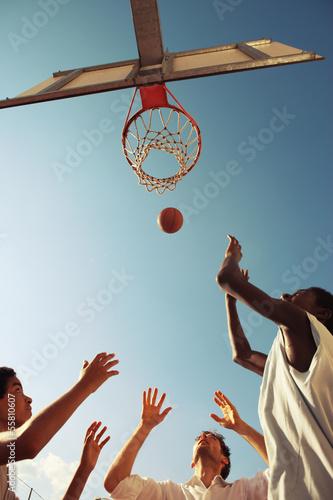 Canvastavla  Basketball