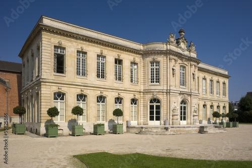 Asnières, château Canvas Print