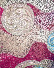 Panel Szklany Podświetlane Mozaika art background