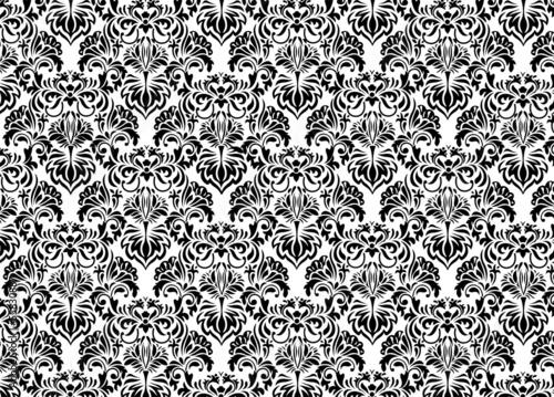 czarno-bialy-dekor