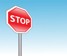 """Traffic Sign """"Stop"""""""