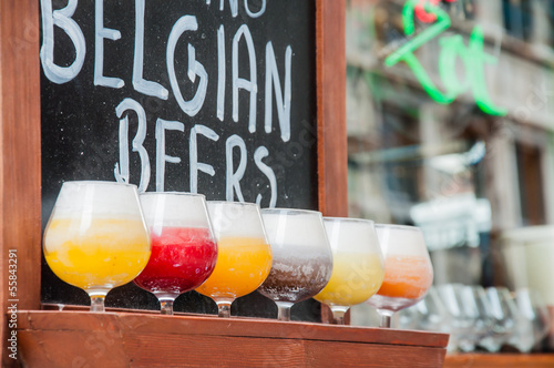 Photo birra di bruxelles in belgio