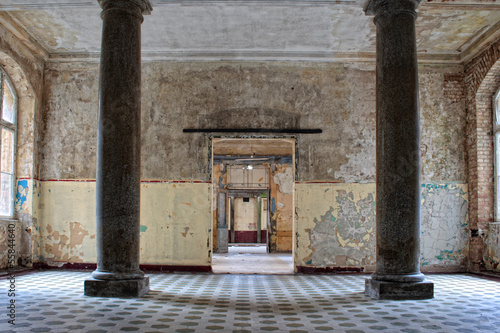 Photo Stands Old Hospital Beelitz Verlassenes Haus