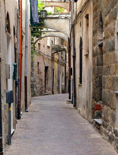 Fototapeten Schmale Gasse streets of old town