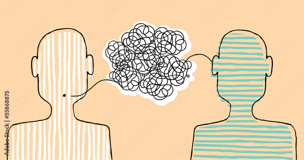 Fototapeta Communicating a message
