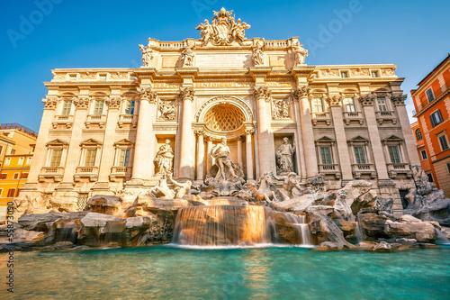 Poster Rome Fountain di Trevi