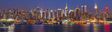 Fototapeta Nowy York - Manhattan at night