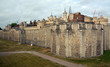 The Historic Tower of London Outer Curtain Wall, UK.
