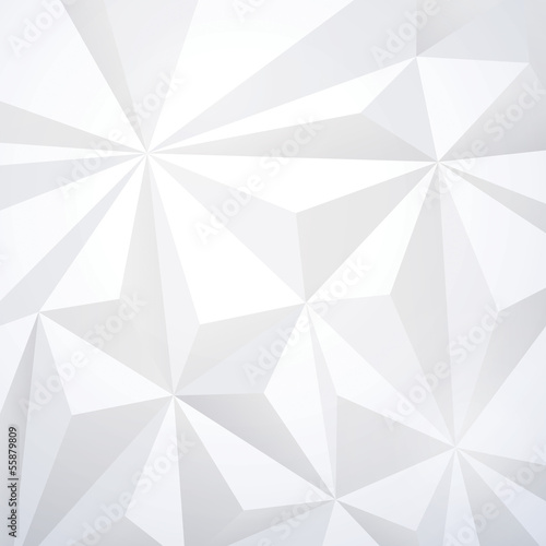 White Geometric Wallpaper Background
