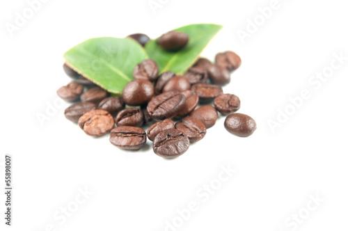 Salle de cafe chicchi di caffè