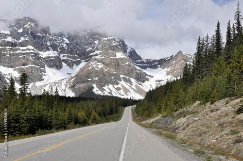 Valokuva  Icefields Parkway, Highway 93, Alberta (Canada)