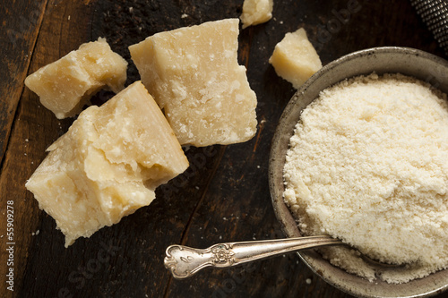 Fotografie, Obraz  Gourmet Organic Parmesan Cheese