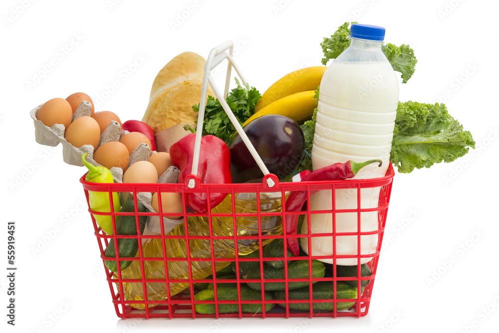 Fotografie, Obraz  Shopping basket