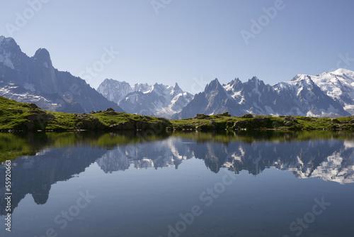Foto op Plexiglas Alpen Alps