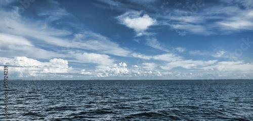 Staande foto Zee / Oceaan Blue Horizon